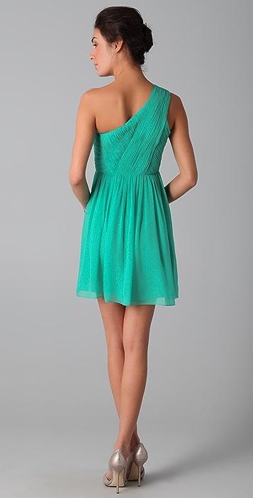Tibi One Shoulder Dress