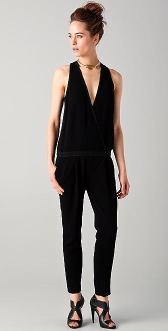 Tibi Wrap Front Jumpsuit