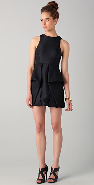 Tibi Sleeveless Open Back Dress