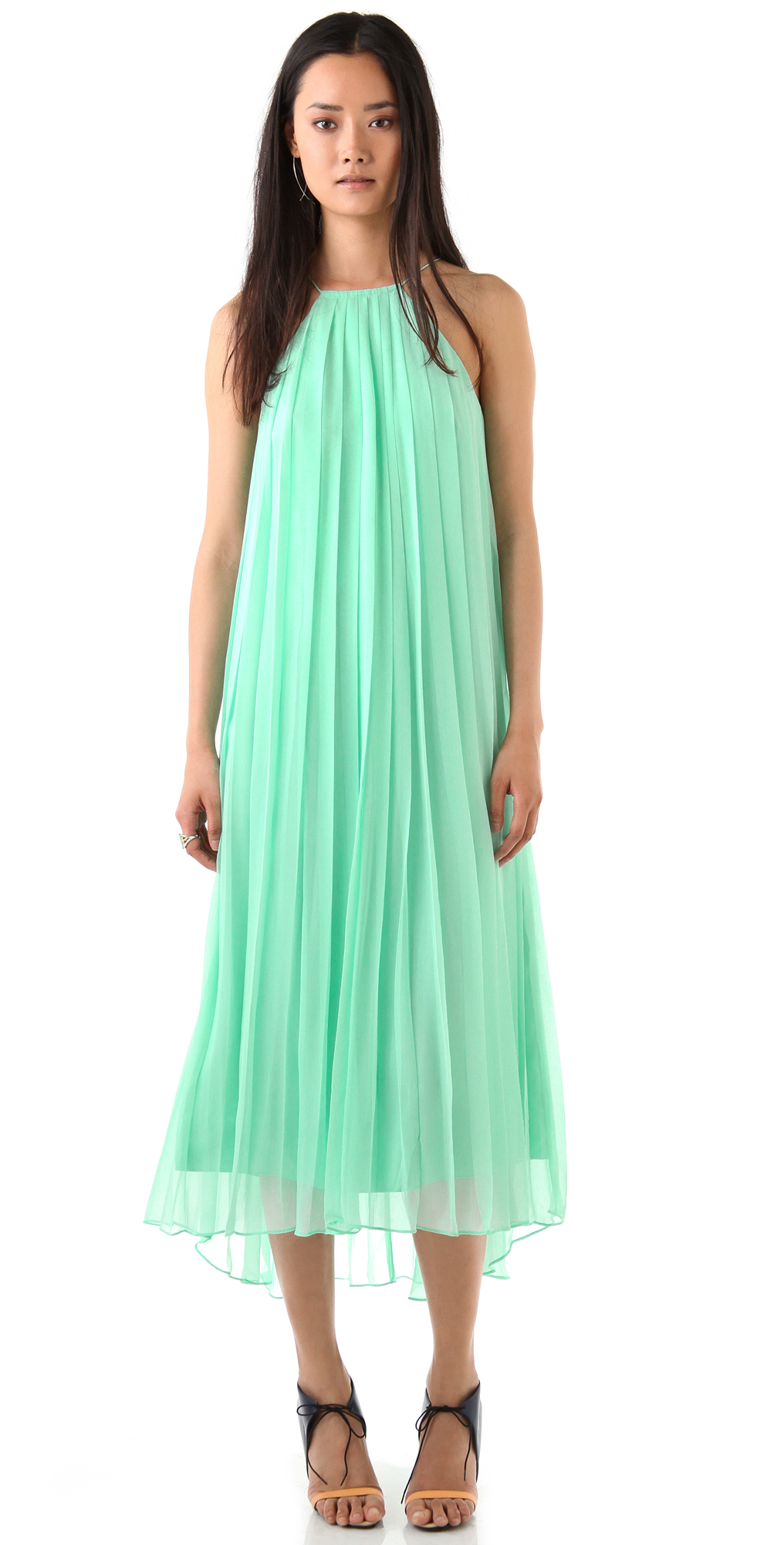 Tibi Sleeveless Maxi Dress | SHOPBOP