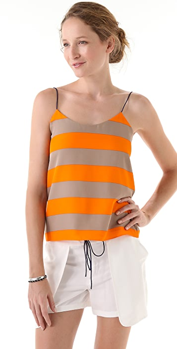 Tibi Striped Camisole