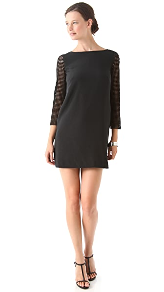 Tibi Labyrinth Lace Dress