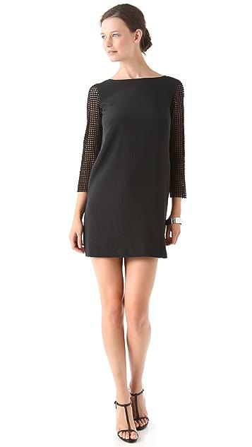 Tibi Labyrinth Lace Dress