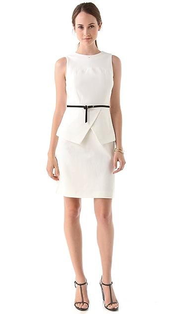 Tibi Ponte Sleeveless Dress