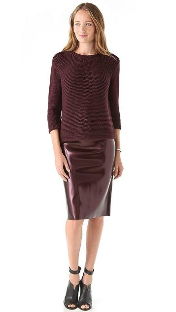 Tibi Cross Back Sweater