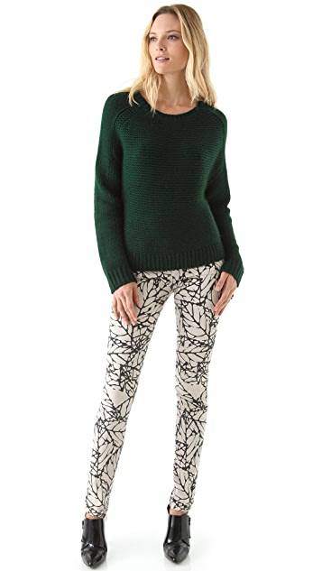 Tibi Long Sleeve Sweater