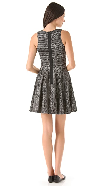 Tibi Fair Isle Knit Dress