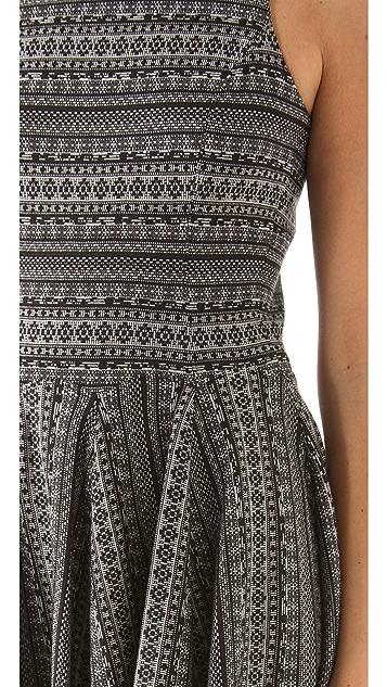 Tibi Fair Isle Knit Dress