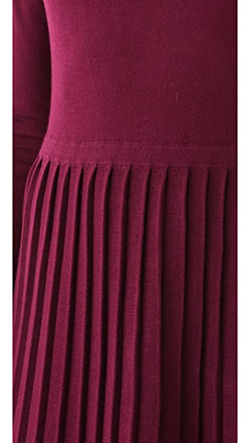 Tibi Pleated Dress