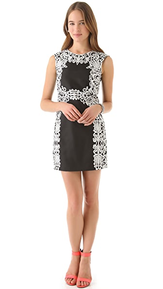 Tibi Violette Sleeveless Dress
