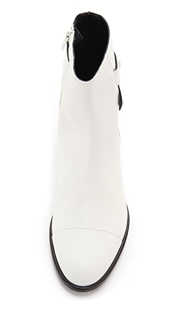 Tibi Asher Flat Booties