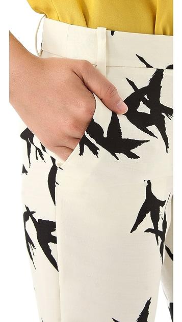 Tibi Paloma Printed Pants