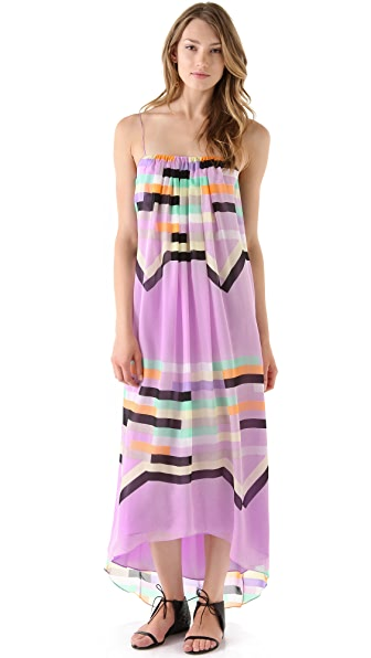 Tibi Arizona Long Strappy Dress