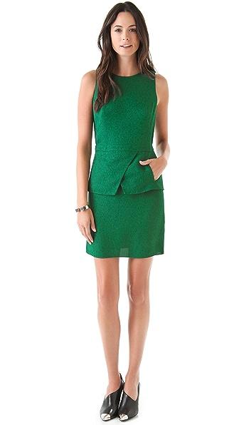 Tibi Short Peplum Dress