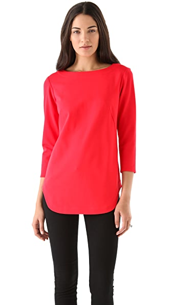 Tibi Ponte Tunic Top