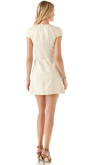 Tibi Anais Jacquard Dress