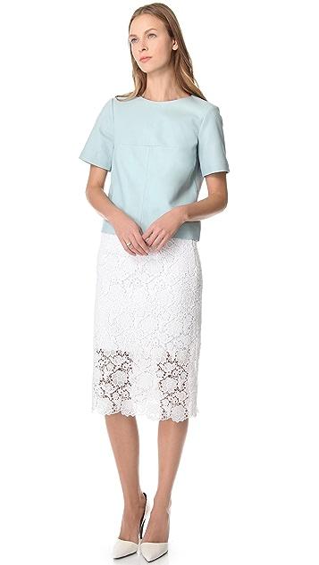 Tibi Sigrid Lace Skirt