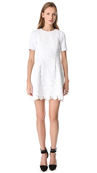 Tibi Sigrid Lace Dress