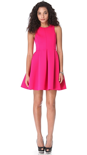 Tibi Neoprene Sleeveless Dress
