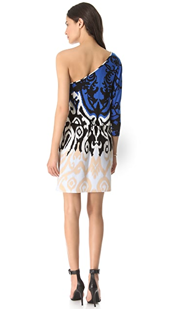 Tibi Jasmine One Shoulder Dress