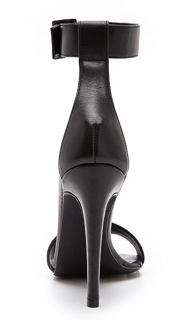 Tibi Carine Ankle Strap Sandals