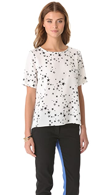 Tibi Easy Starfish Top
