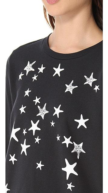 Tibi Starfish Sweatshirt