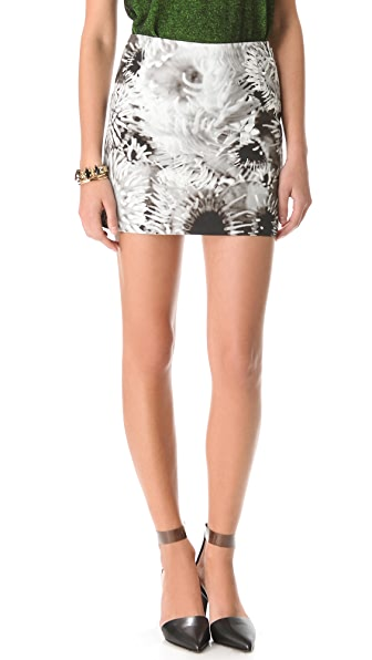 Tibi Anemone Miniskirt