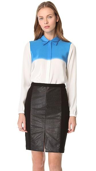 Tibi Faded Stripe Shirt