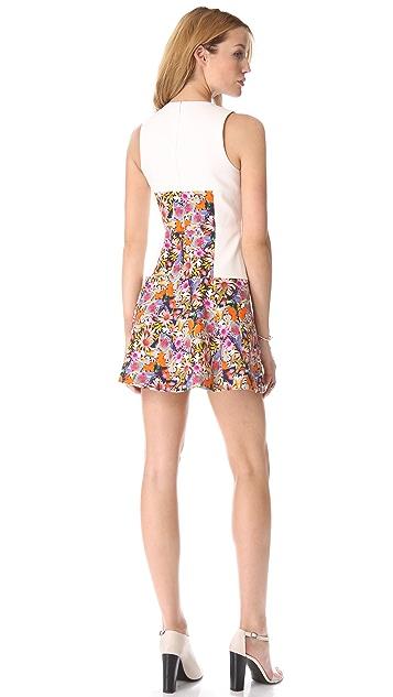Tibi Potpourri Denim Dress