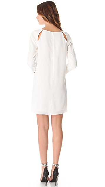 Tibi Alison Peek-A-Boo Shift Dress