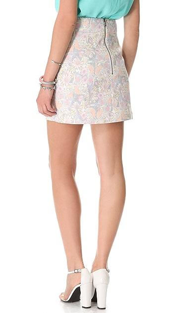 Tibi Potpourri Paneled Skirt