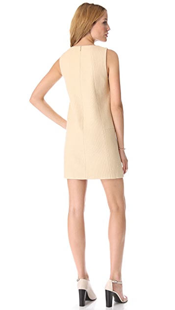 Tibi Amelie Basket Weave Dress