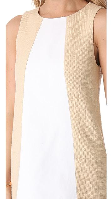 Tibi Amelie Basket Weave Dress