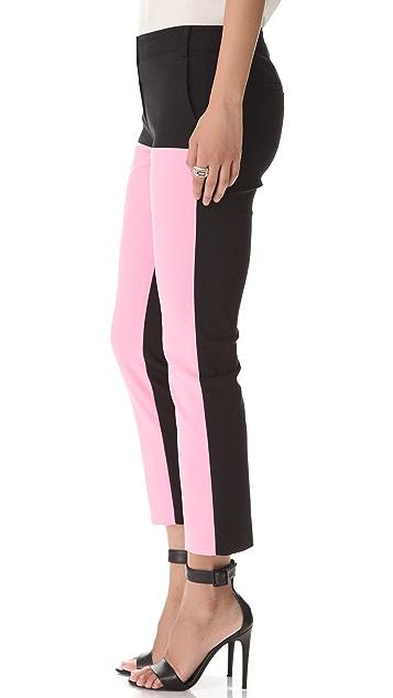 Tibi Milo Colorblock Pants