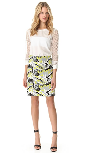 Tibi Isosceles Pencil Skirt