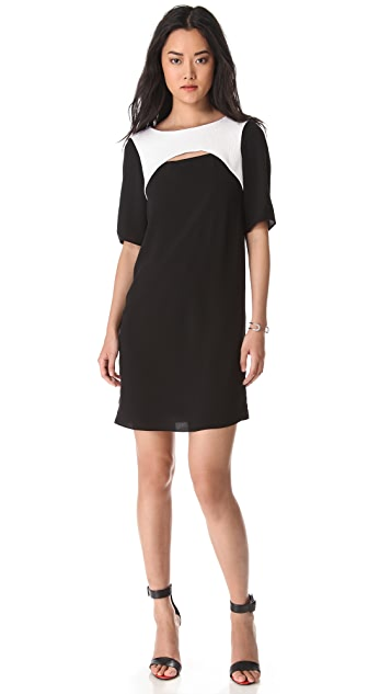 Tibi Alexa Cutout Dress