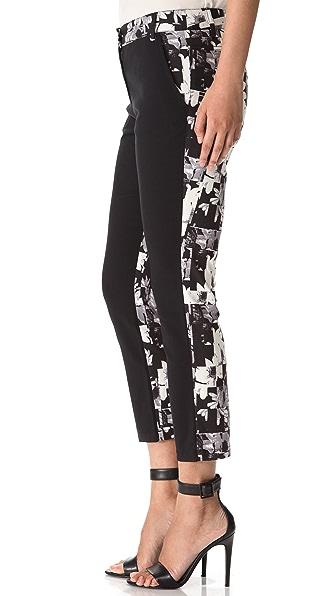 Tibi Arel Print Back Pants