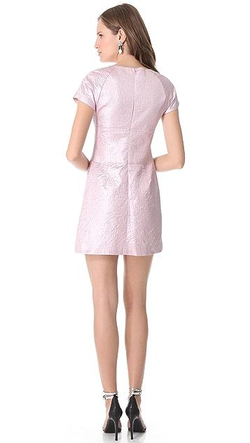 Tibi Cara Paneled Dress