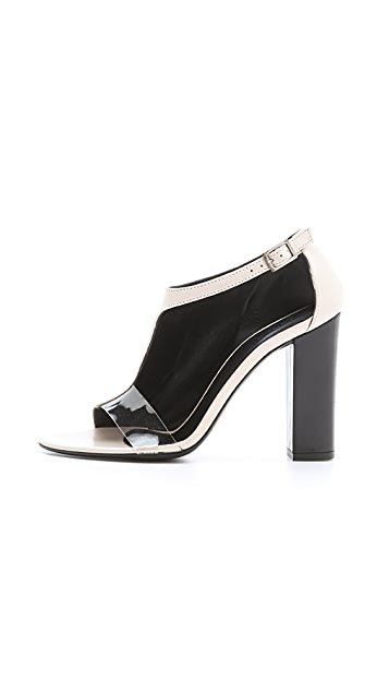 Tibi Elliot Asymmetrical Booties