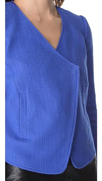 Tibi Basket Weave Jacket