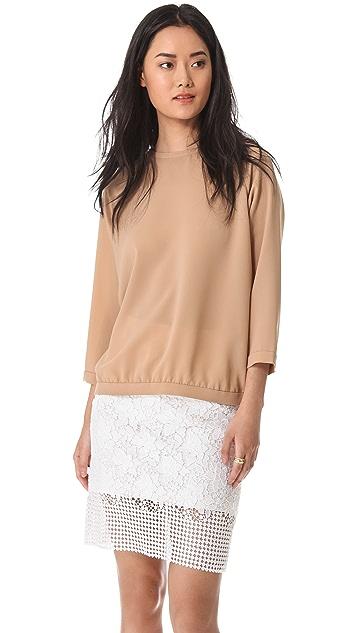 Tibi Alexa Easy Shirt