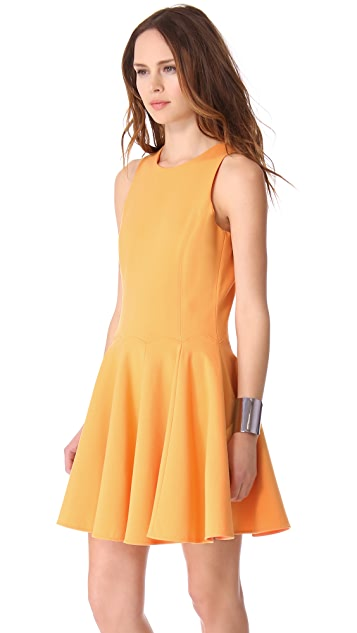 Tibi Ponte Sleeveless Dress