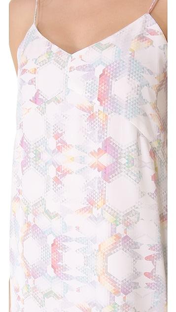 Tibi Kaleidoscope Slip Dress