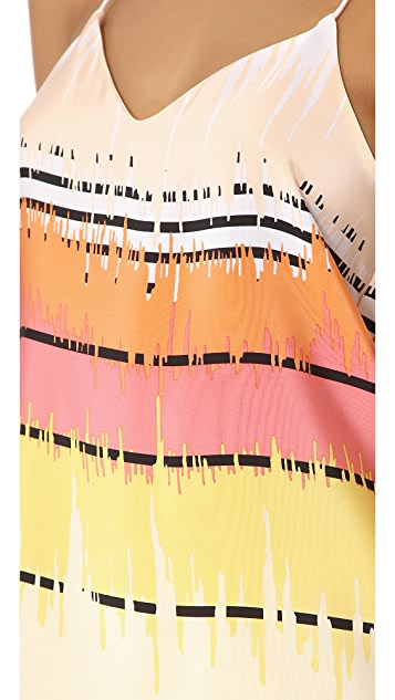 Tibi Analog Print Camisole