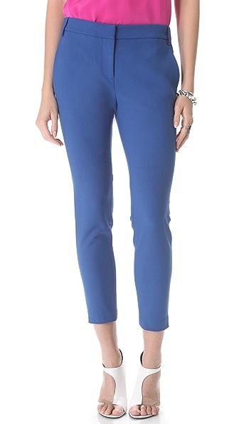 Tibi Anson Stretch Ankle Pants