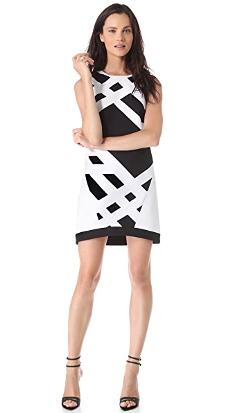 Tibi Transit Sleeveless Dress
