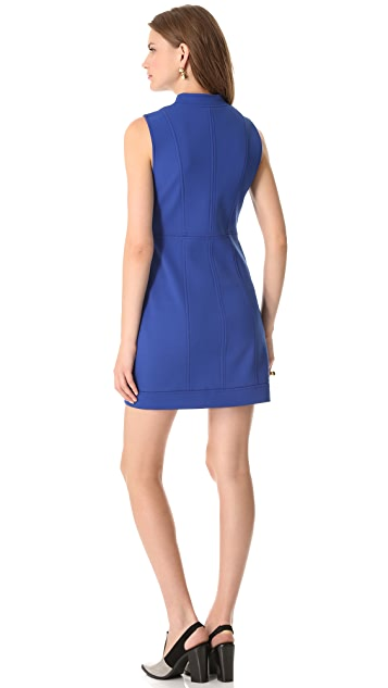 Tibi Bonded Sculpted Dress