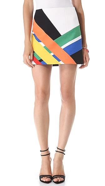 Tibi Transit Skirt