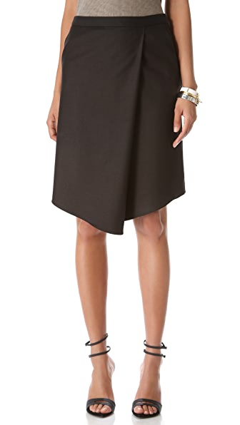 Tibi Sharkskin Skirt